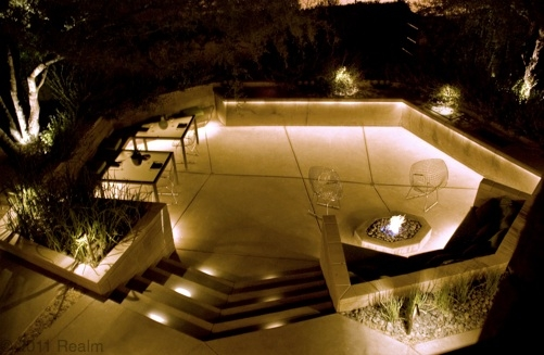 outdoor landscape lighting design and fixtures