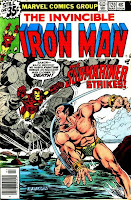 Iron Man #120 comic image