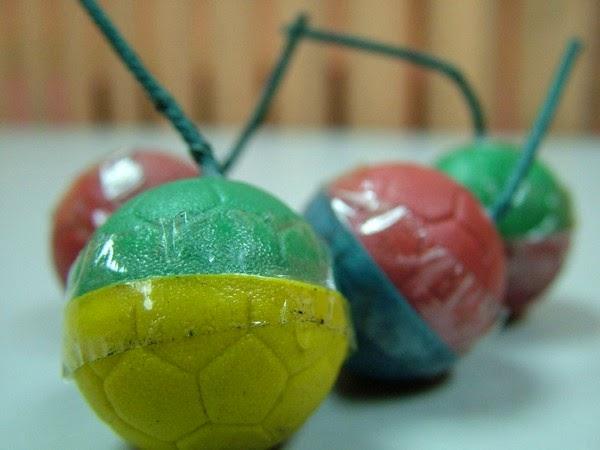 Korban Mercun Bola di Aidilfitri