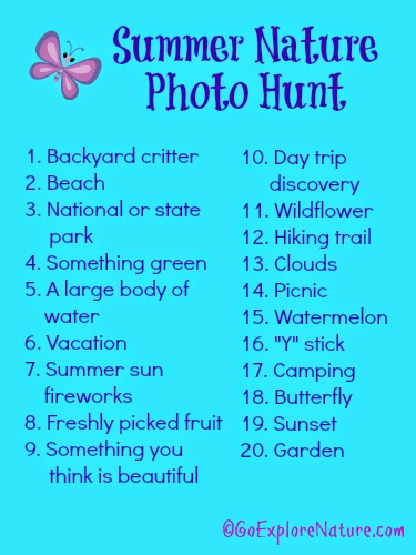 2014 Summer Nature Photo Hunt