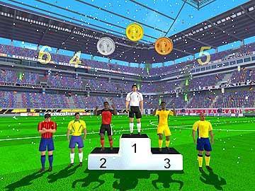 Futbol Yıldızı Yeşil Sahalarda Oyunu