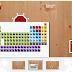 Tabel Periodik Unsur dengan Animasi - Add-On Google Chrome