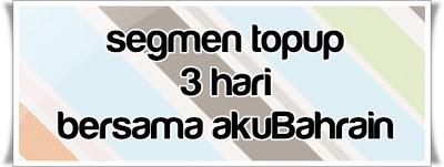 Segmen Topup 3 Hari Bersama AkuBahrain