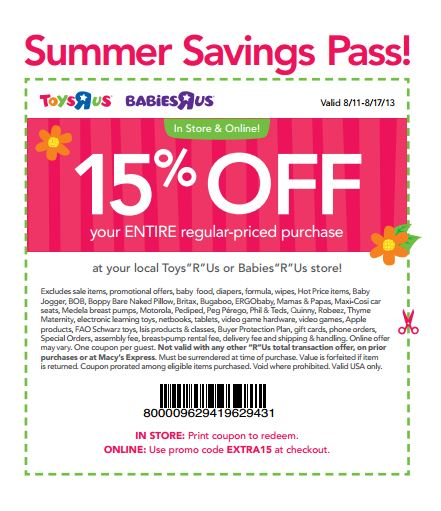 Babies r us coupon 2018 canada