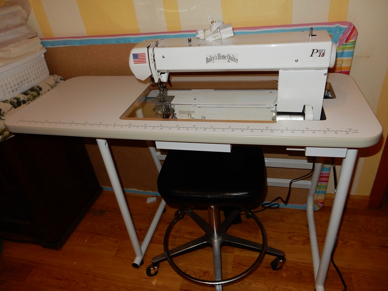 Mary\'s Quilting Notes: Sit Down Quilting Machine!