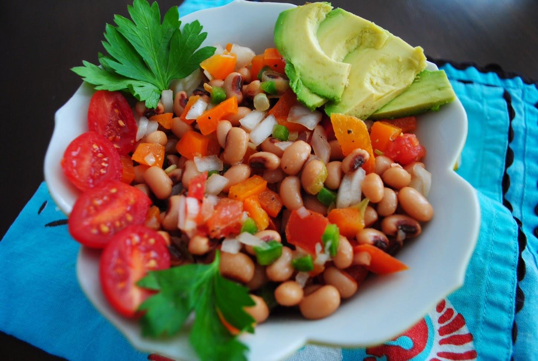 red lips, won't quit: {Recipe} Black-Eyed Pea Summer Salad