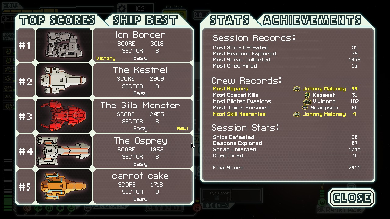 how to get ftl ships