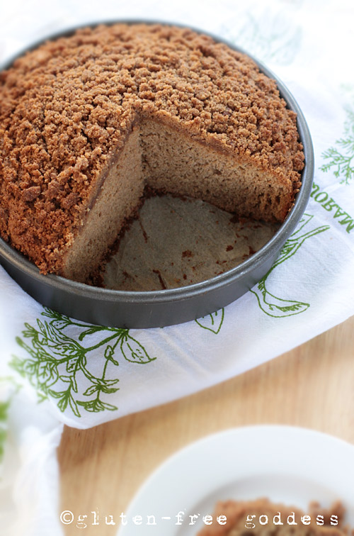 Gluten-Free Applesauce Cake #glutenfree #cake