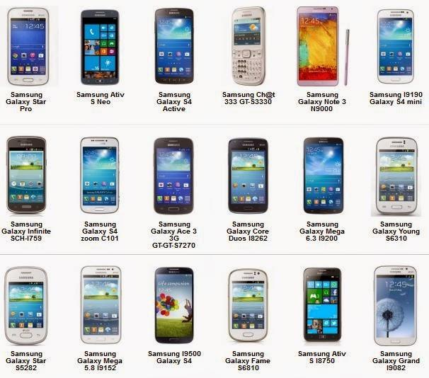 Daftar Harga Dan Gambar Hp Samsung Android Terbaru