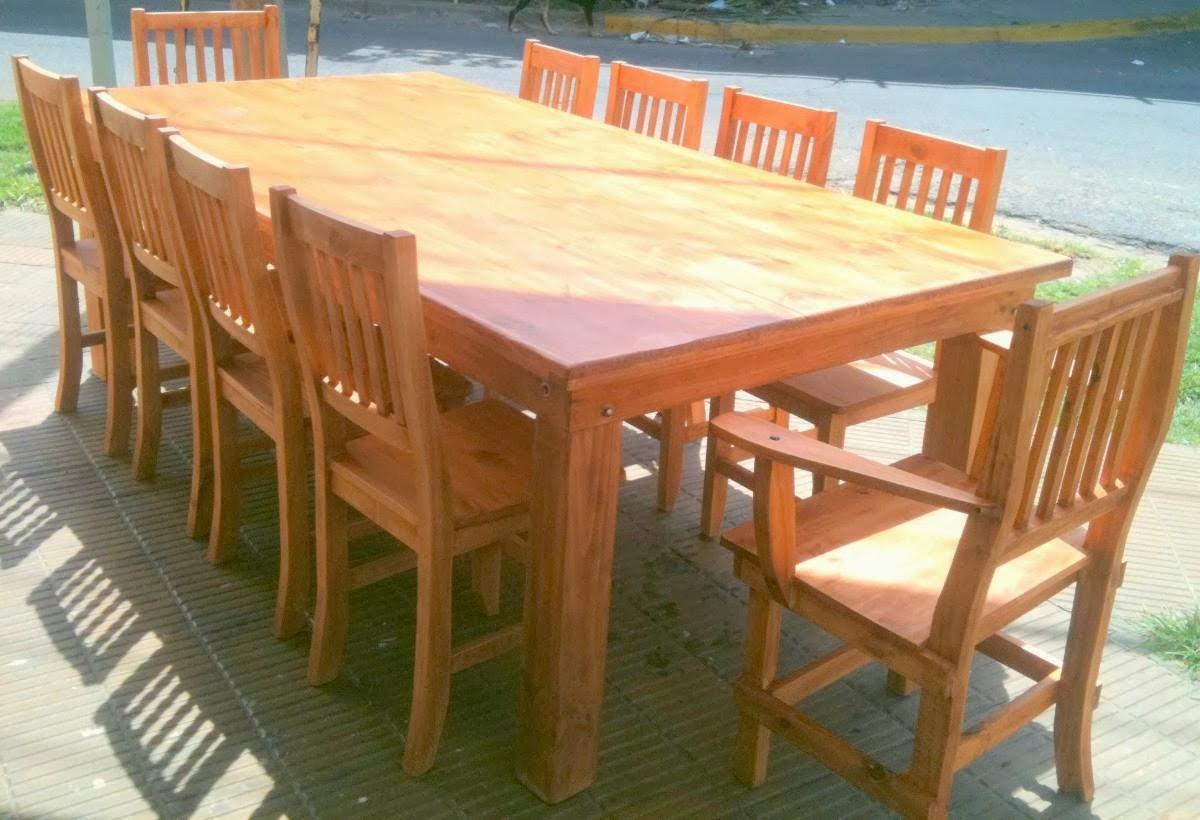 Fabrica de mesas y sillas en zona norte mesa de quincho for Fabrica mesas y sillas