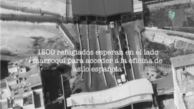 """Refugiada en Melilla: """"He pagado 400 euros para que mi nieta cruce a España"""""""