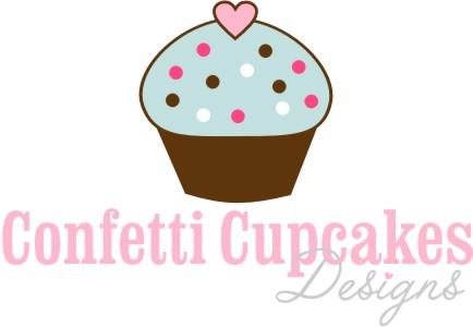Confetti Cupcakes Designs