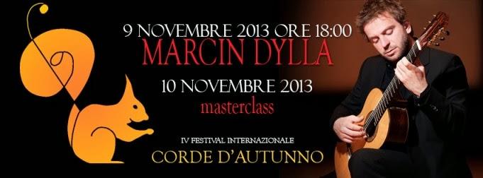 Concerti gratis a Milano: sabato 9 novembre 2013 Marcin Dylla in concerto al Centro Asteria