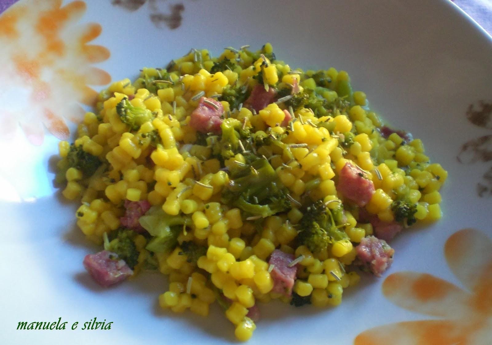 la koleda con broccolo siciliano e salsiccia affumicata