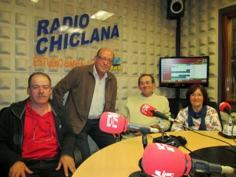 Entrevista en Radio Chiclana