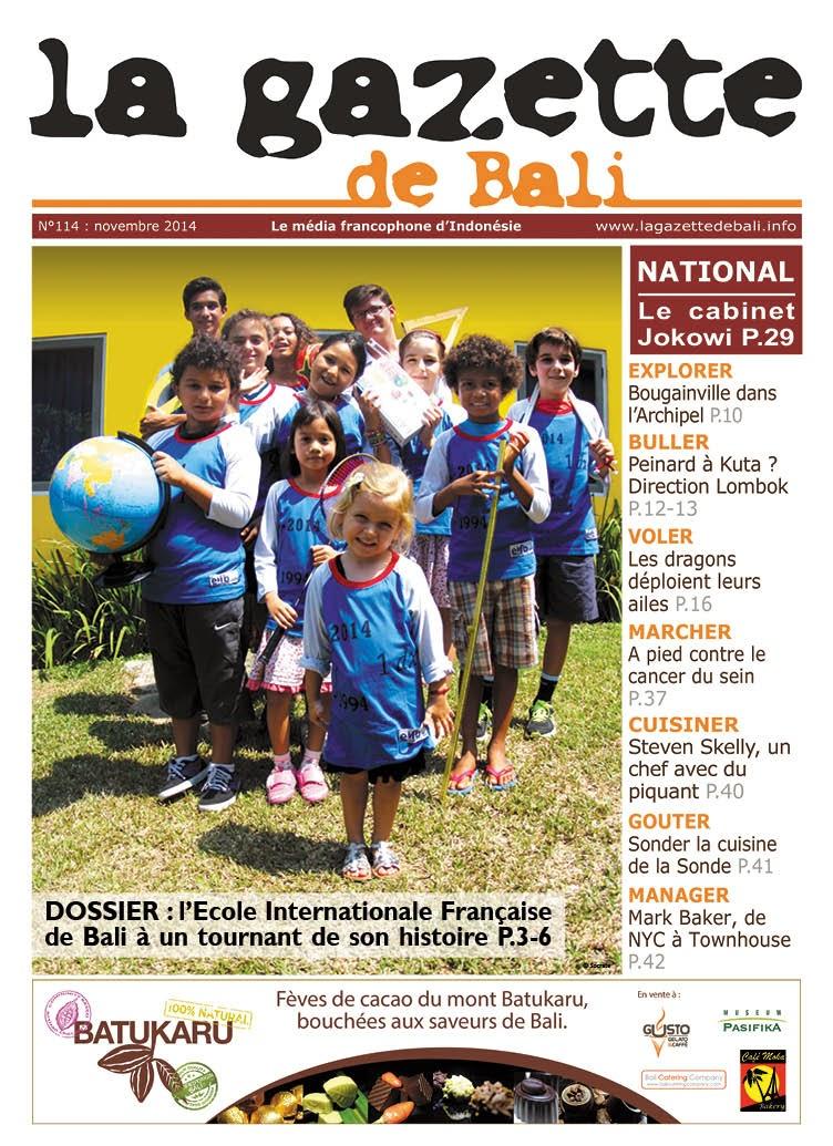 La Gazette de Bali novembre 2014