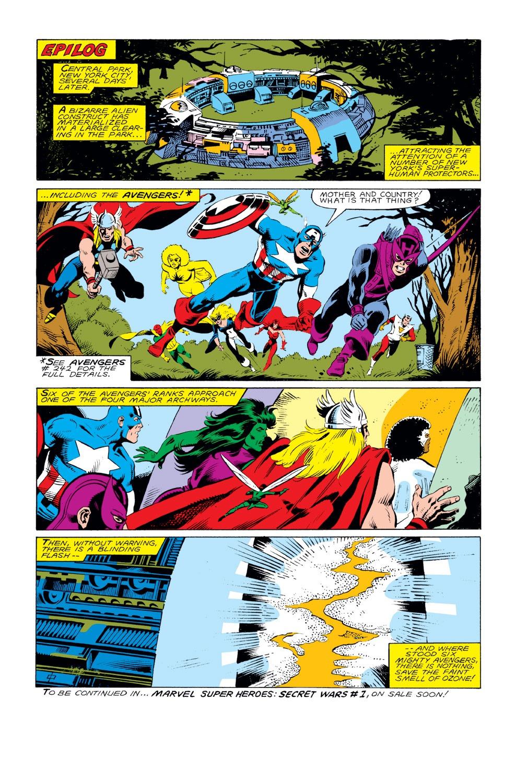 Captain America (1968) Issue #292 #208 - English 24