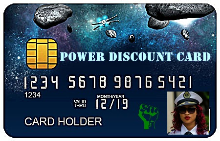 POWER DISCOUNT CARD