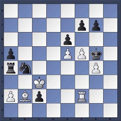 Les Noirs jouent et gagnent en 3 coups - Niveau Facile