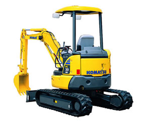 Komatsu Excavators PC30MR-3