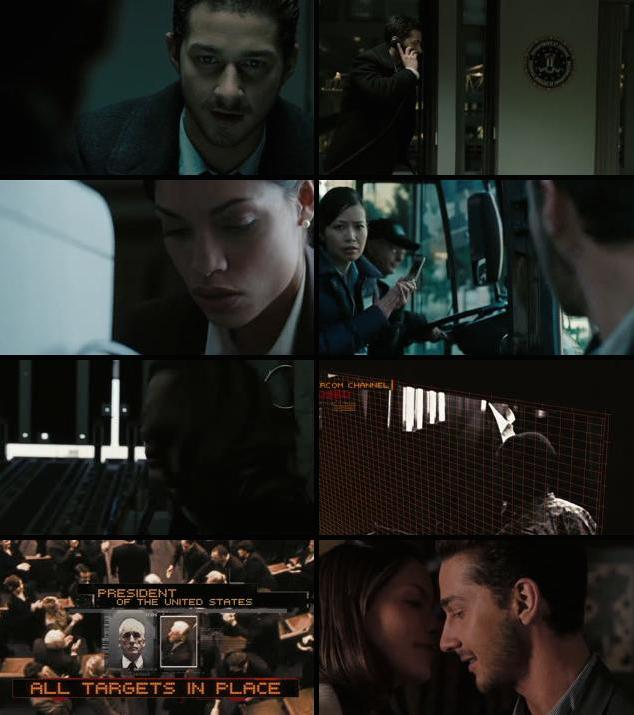 Eagle Eye 2008 Dual Audio BRRip 720p