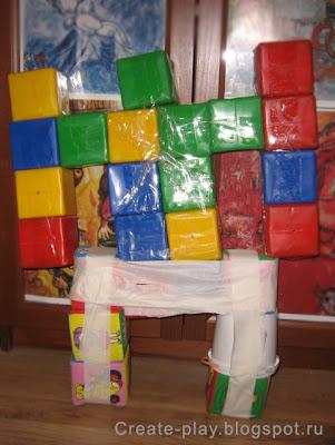 Трансформеры из кубиков