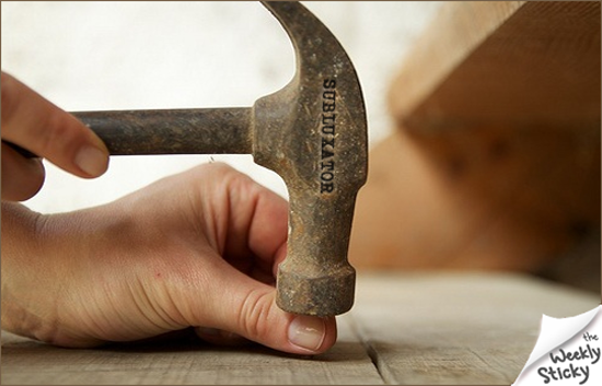 Joseph Bismark on Hammering Your Thumb