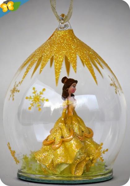 Boules de Noël princesses Disney : Belle