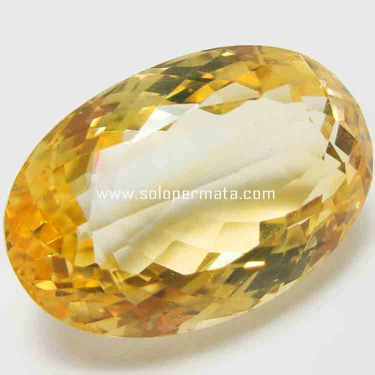 Batu Permata Big Yellow Citrine - 26B02