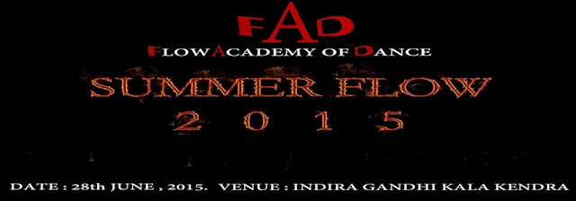 Summer Flow 2015 at Indra Gandhi kala Kendra, Noida