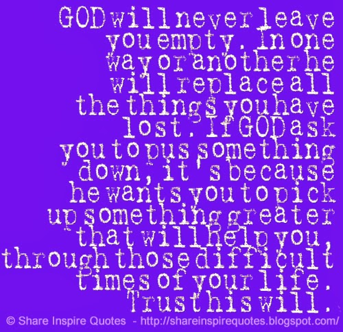 god inspirational quotes for difficult times quotesgram
