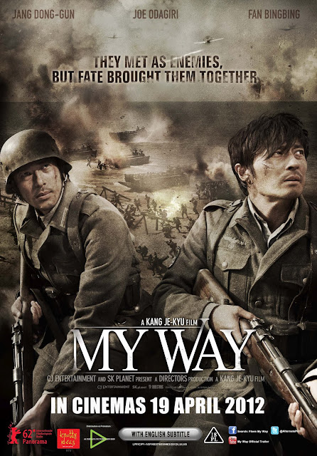 Filem My Way Korea