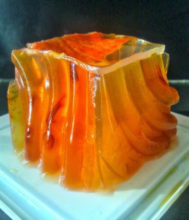 Sorbetto all'ylang-ylang e la sua gelatina