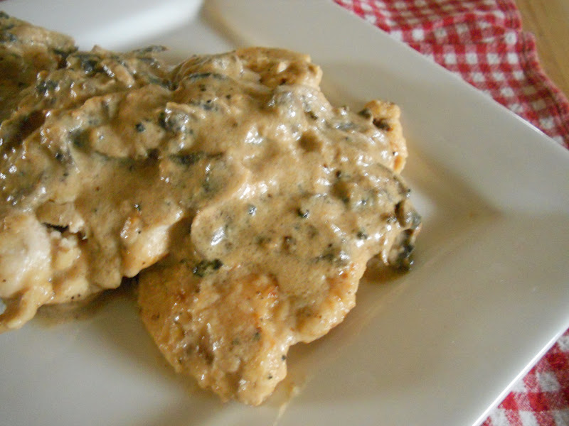 ... Sweet and Savory Eats: Chicken Cutlets in a Mushroom Cream Sauce
