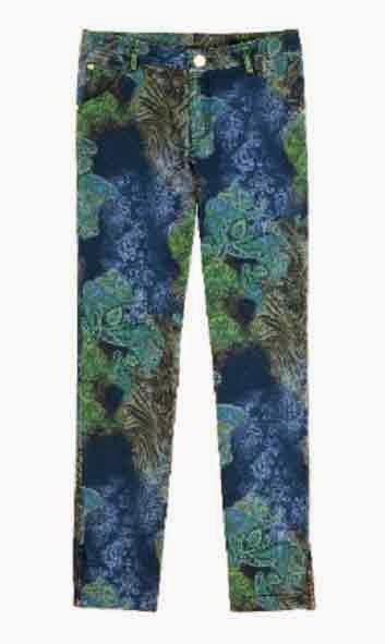 pantalones estampados