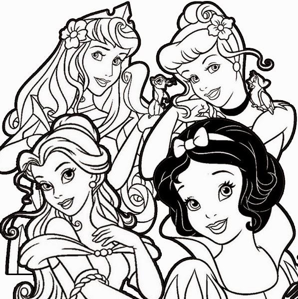 colorindo com as lembrancinhas rcbx desenhos para colorir princesas