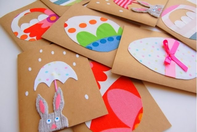 Creative kids – Make Your Own Easter Cards