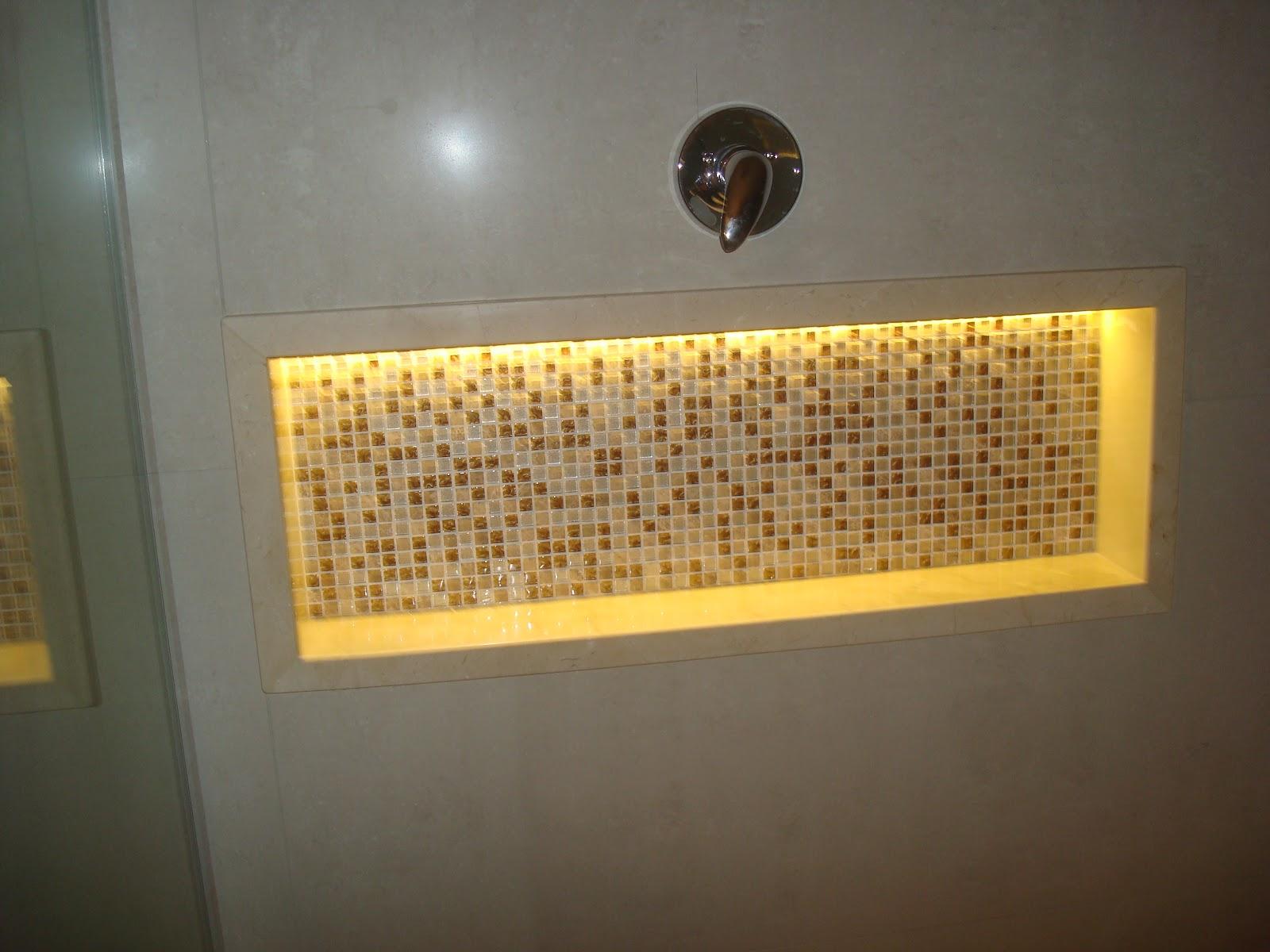 Construindo um Castelinho Banheiro Crema tim tim por tim tim!! -> Banheiros Com Pastilhas Porto Design