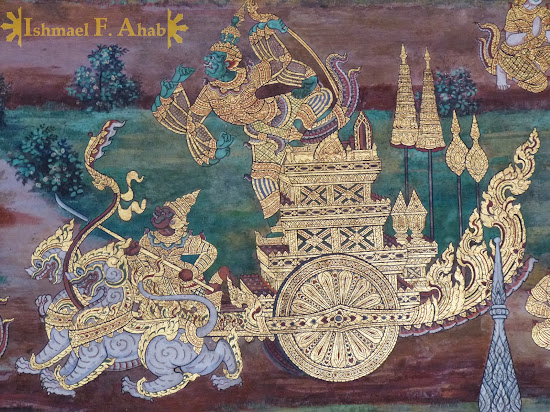 Ramakien in Bangkok Grand Palace: Totsakan