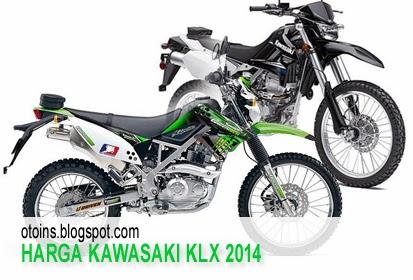 Rincian Harga Motor Kawasaki Trail KLX Terbaru 2014