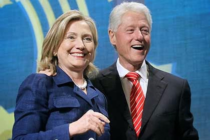 Controversy over who has access to Hillary and Bill Clinton (Photo: Fanshare)