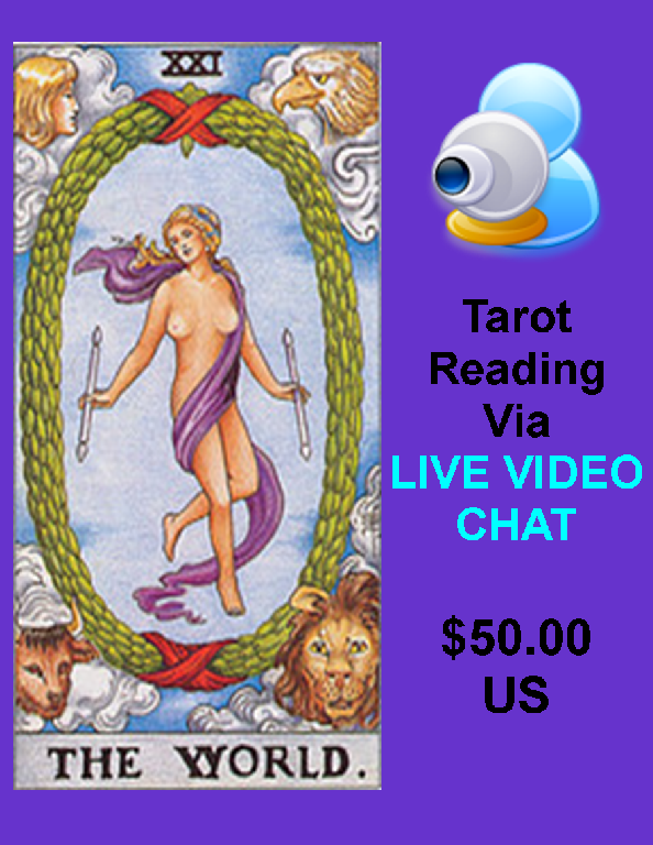 30 min live video reading- Read more about it