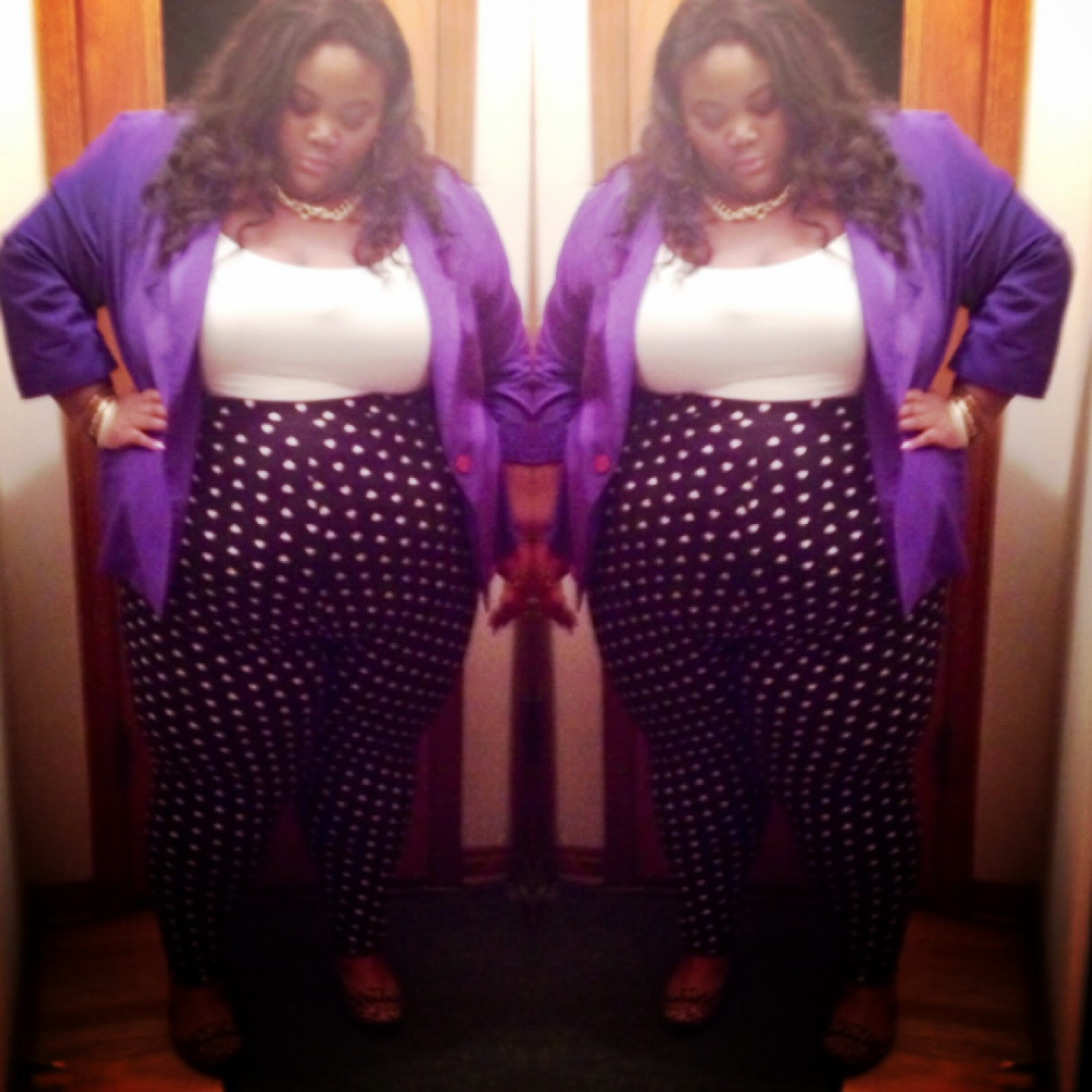 plus size girl in a close minded world: she is back!! pop of color