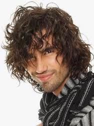نصائح للعناية بالشعر المجعد للرجال - men curly hair