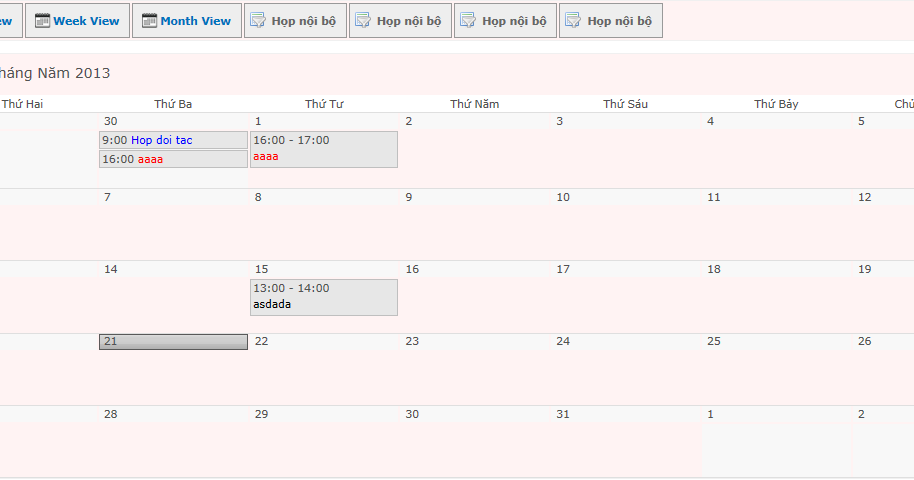 SHARE POINT: Color Coded Events in SharePoint 2010 Calendars