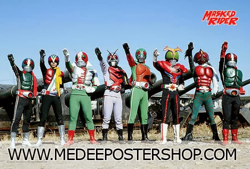 Masked Rider Poster
