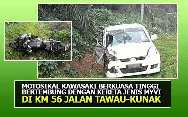 Berita sabah kemalangan di Jalan Tawau-Kunak