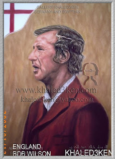 STARS ENGLAND BOB WILSON Portrait Drawing Soccer Football Khaled3Ken Gallery