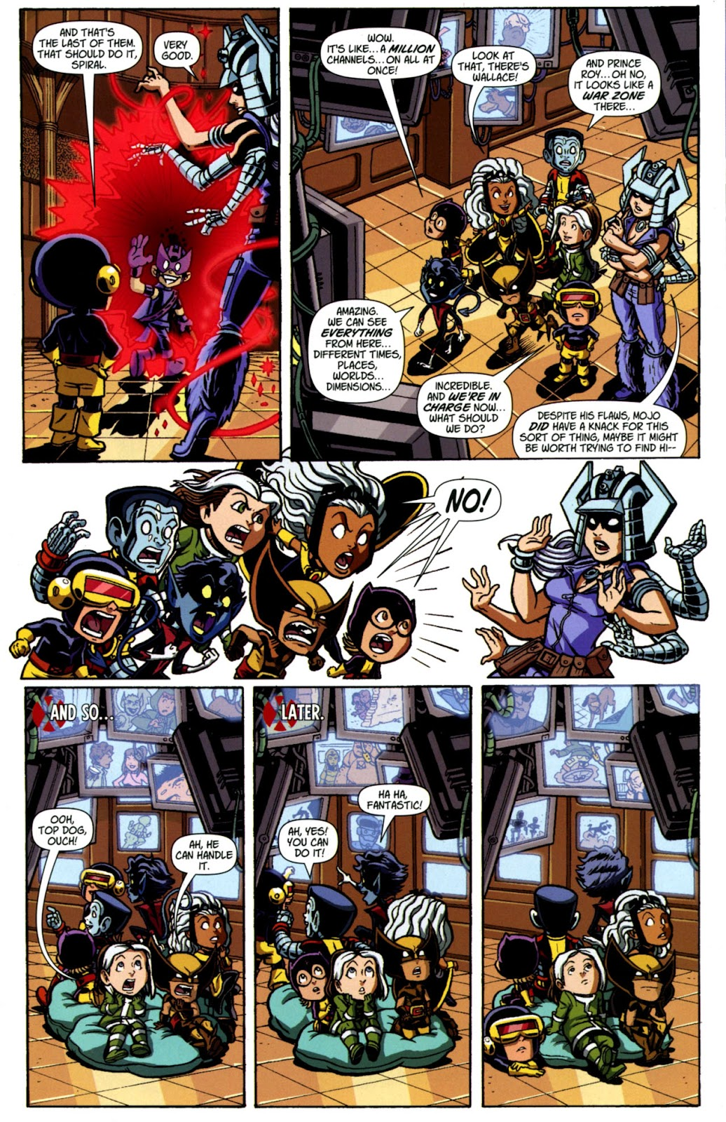 Read online X-Babies comic -  Issue #4 - 21