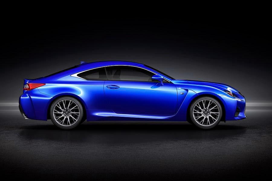 Lexus RC F (2014) Side
